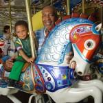 carousel-boy-grandfather