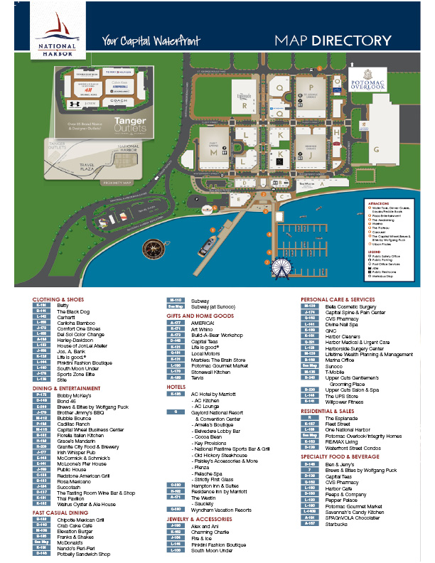 Plan A Visit National Harbor National Harbor