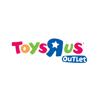"Toys""R""Us Outlet logo"