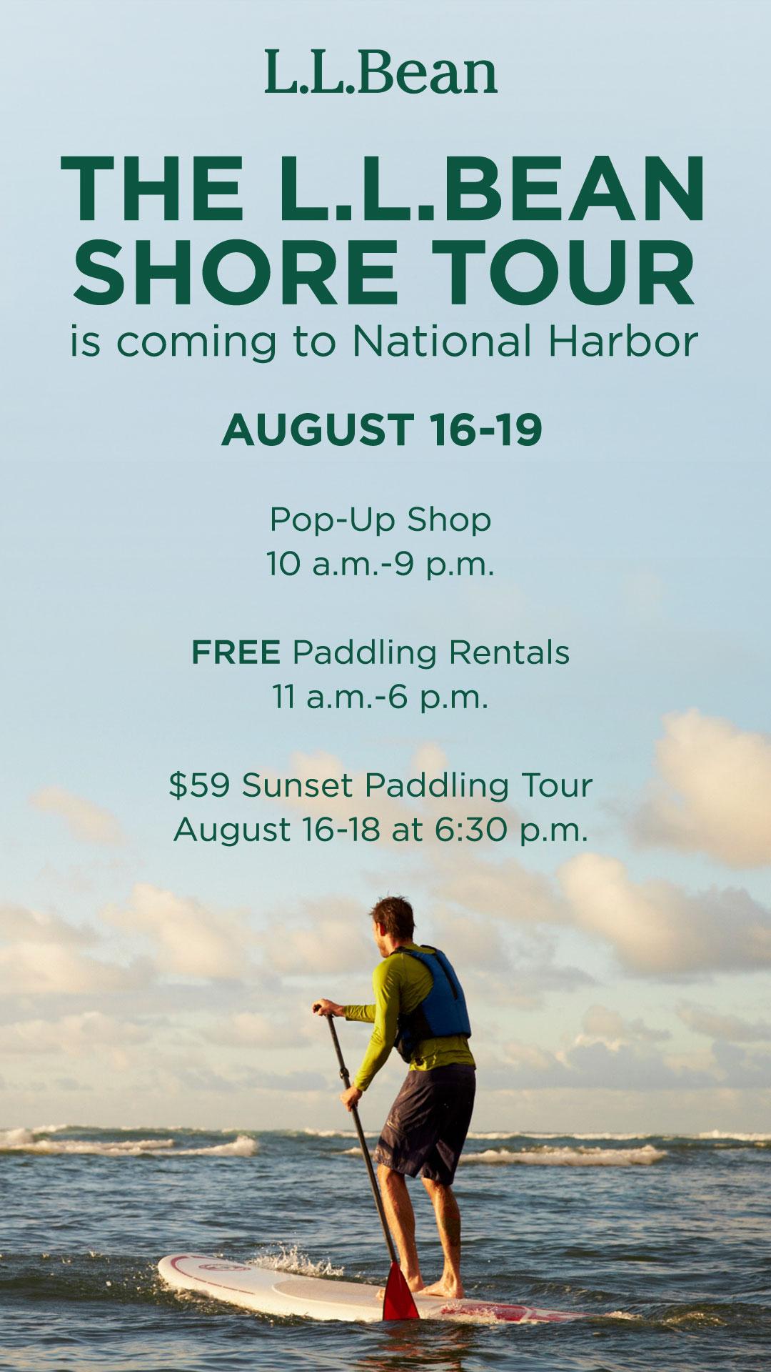 L L Bean Shore Tour National Harbor National Harbor
